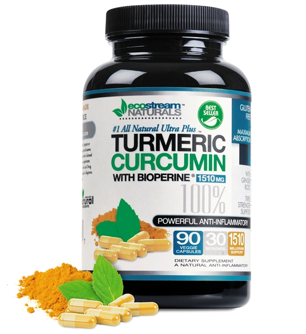 Turmeric, Curcumin and BioPerine #1 All Natural Ultra Plus Support Formula