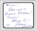 Autographed Bookplates