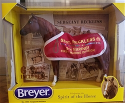 Sgt Reckless Breyer Horse