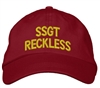 Staff Sgt Reckless Cap - red