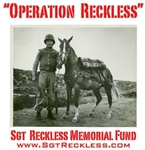 DONATIONS - Sgt Reckless Memorial Fund