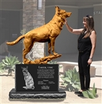 DONATIONS - War Dog Lucca Monument