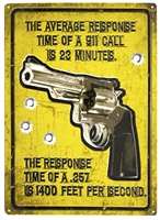 Average Response Time Tin Signs