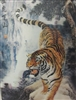 286 3D Lenticular Picture Orange Tiger Walking 2a2514