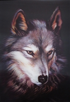 288 3D Lenticular Picture Red Wolf