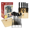 22 Piece Master Chef Cutlery Set
