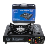 Portable Black Crystaline Gas Stove