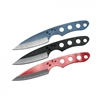 "6.5"" Assorted Dog Paw Set of 3 Throwing Knives"