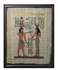 Amun and Isis Framed Papyrus #13