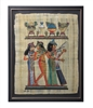 Three Musicians from the Tomb of Nakht Framed Papyrus #64