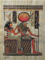 #22 Imentet and Ra Papyrus