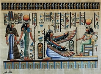 #26 Nefertari, Hathor, Ma'at, Isis Papyrus