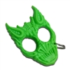 BK-12GN Green Demon Head Knuckle Keychain