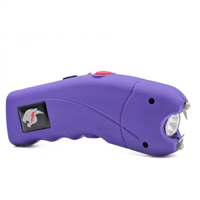 CH-23PRA Cyclone Stun Gun Purple with Alarm
