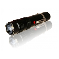 ALPHA FORCE FLASHLIGHT STUN GUN BLACK