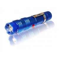 ALPHA FORCE FLASHLIGHT STUN GUN Blue