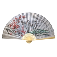 D13037-12 Horse Decorative Wall Fans 3' x 5'