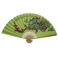 D13037-5 Plum Blossom Decorative Wall Fans 3' x 5'