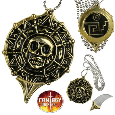 FM-455 Pirate Coin Necklace Knife