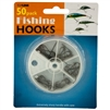 50-piece Fishing Hooks Set