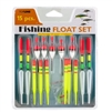15-piece Neon Fishing Floats Set