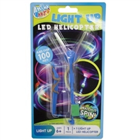 LED Light Up Helicopter slingshot style