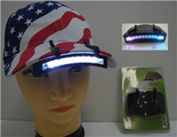 11 LED Cap Light for Hats
