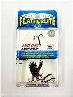 Eagle Claw Featherlite Lazer Sharp Treble Hooks