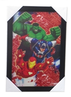 Marvel 3d Picture 103 Hulk and Iron Man and Captain America