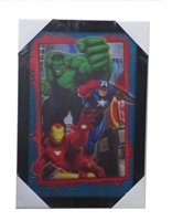 Marvel 3d Picture 104 Hulk and Iron Man and Captain America