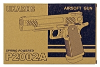 P2002A Spring Powered Airsoft Handgun