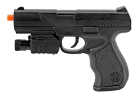 P299AF Polymer Spring Airsoft Pistol with Laser and Flash Light