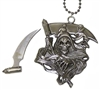 PE-613 Grimm Reaper Necklace Knife