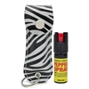 CHEETAH PEPPER SPRAY ZEBRA SPARKLE