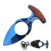 "RT-7111BL Blue 3"" Neck Knife with Sheath"