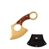 "7103GD GOLD AXE 6"" OVERALL PAKKA WOOD HANDLE"