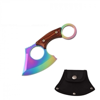 "7103RB RAINBOW AXE 6"" OVERALL PAKKA WOOD HANDLE"