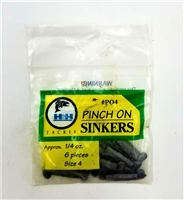 H&H Tackle Pinch On Sinkers
