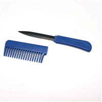 BLUE Comb with Hidden Knife