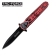 Tac-Force Celtic Stiletto Style Assisted Opening Knife TF-638RD
