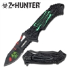 Z HUNTER ZB-040GN Assisted Opening KNIFE