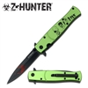 "Z HUNTER ZB-092GZ Assisted Opening KNIFE 4.75"" CLOSED"