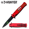 "Z HUNTER ZB-092RHAssisted Opening KNIFE 4.75"" CLOSED"