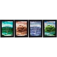 LED Framed 3D Picture Tree