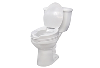 "Sunburst Medical 2"" Raised Toilet Seat w/ Lid"