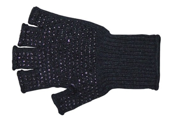 Half Finger Wool Knit Glove