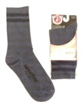 Wright Double Layer Blue Crew Anti-Blister Sock