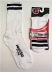 Wright Double Layer White Crew Anti-Blister Sock