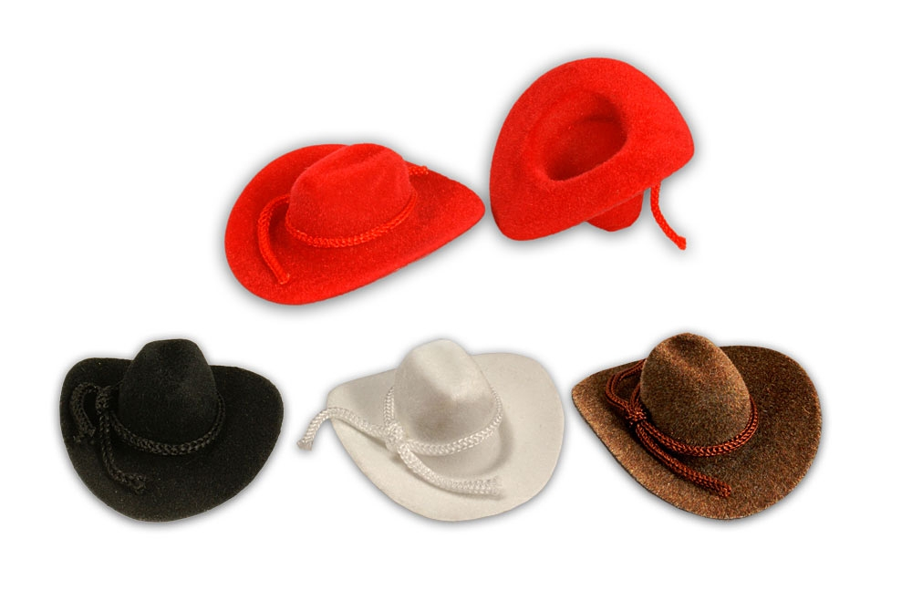 Mini Cowboy Hat Western Wedding Favors Decoration Red Brown Black ...