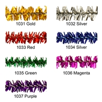 "100PCS Craft Tinsel Stems Pipe Cleaners 6mm x 12"" Top Quality 7 Colors"